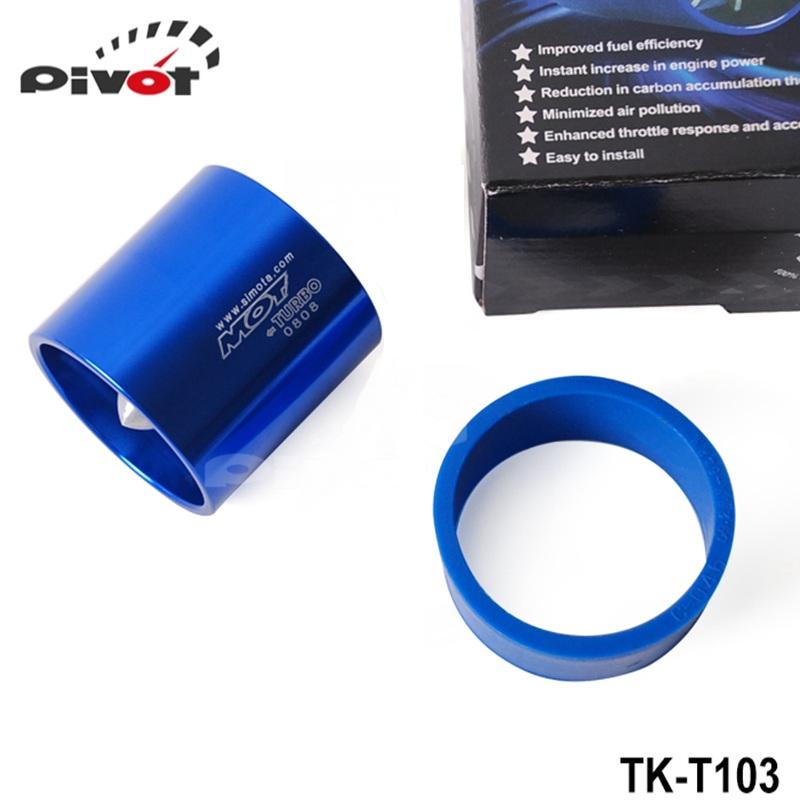 Сводные - 10 шт. турбо нагнетатель малый размер вентилятор ( диаметр : 55 мм ) Flow усилия представления турбина топлива Saver TK-T103