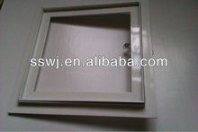 easy installation concealed lock aluminum inspection door