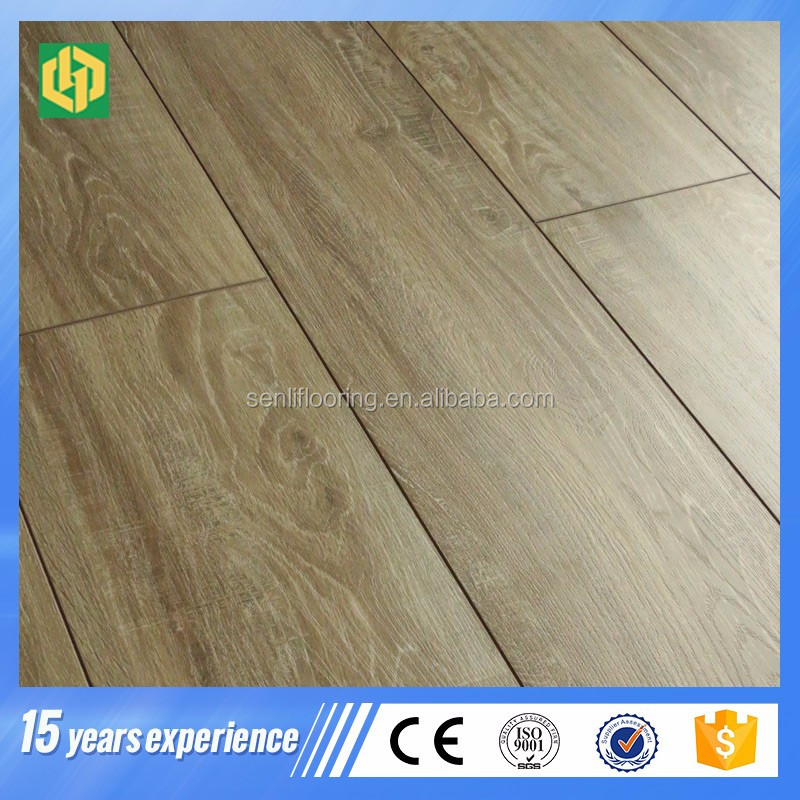 2017 new design specials surface wood high gloss laminate flooring