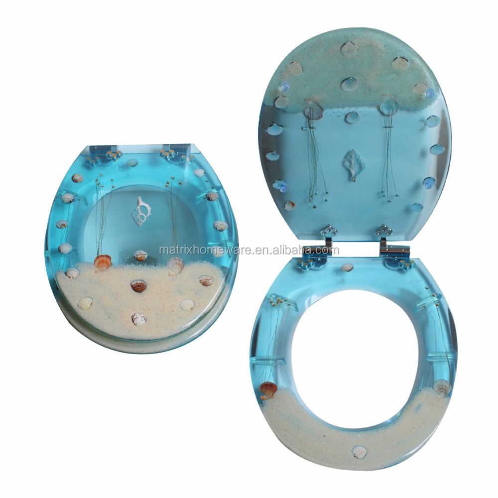 sea shell toilet seat. Clear Polyresin Toilet Seat  Suppliers and Manufacturers at Alibaba com