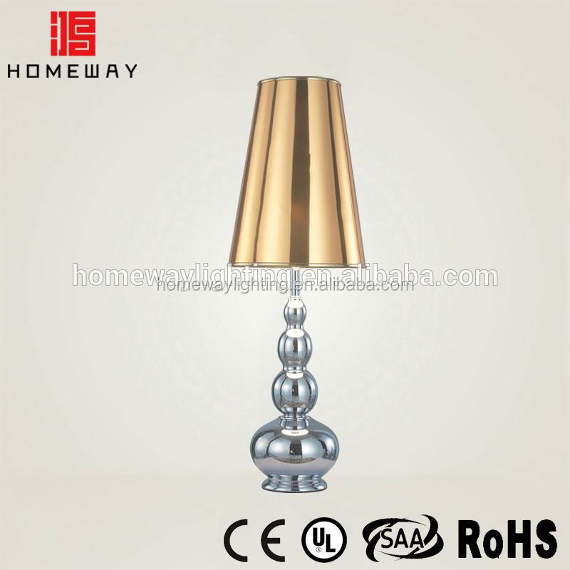 New arrival round carrefour products table lamp red SAA approval