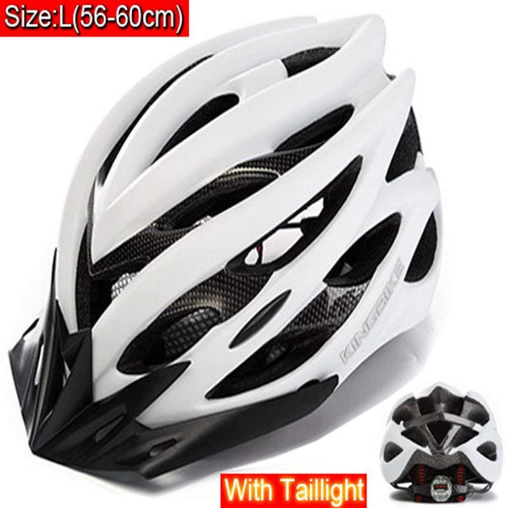 94d7b20ac CTRICKER Cycling Helmet Women Men Bike Bicycle Helmet Road Mountain With  Visor MTB Bike Helmet Security Taillight casco ciclismo