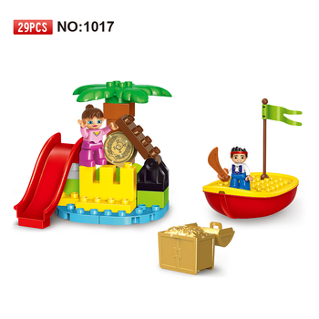 Gorock Indiana(small box)29pcs funny blocks play set giant legoing bricks block sets with legoing duplo toys