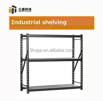 Industrial Warehouse Shelf Industrial Sliding Shelf Iron