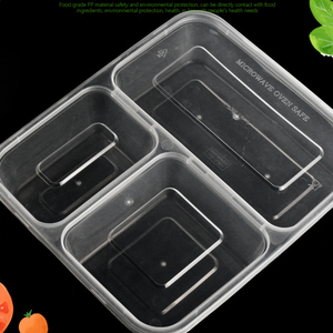 Customizable food box packaging plastic lunch box lunch bento box with lid