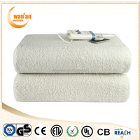China Alibaba Synthetic Wool Cold Electric Blanket for Baby