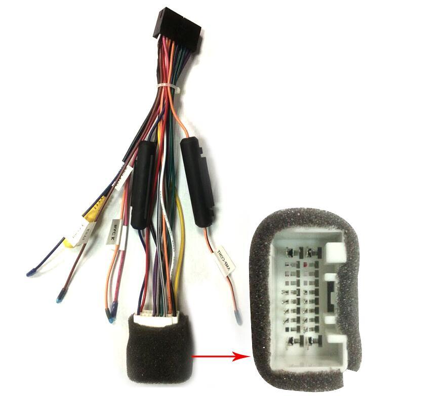 Enjoyable Joying Mitsubishi Car Stereo Radio Wire Harness Cable Replacement Wiring Cloud Usnesfoxcilixyz