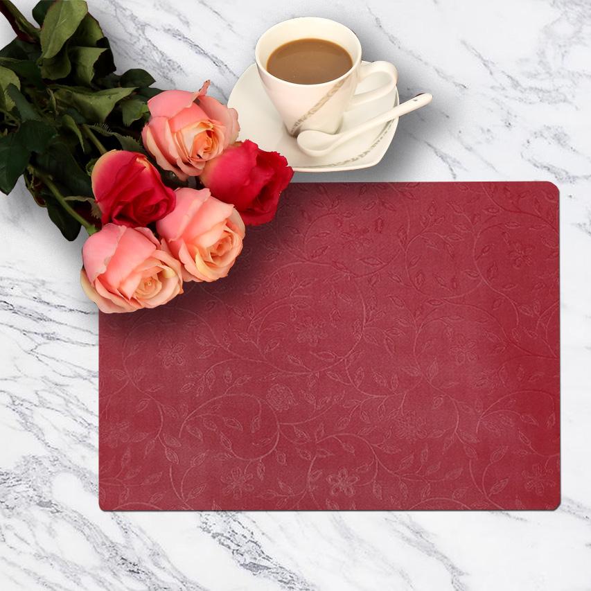 PVC gold nylon placemat for laptop table placemat sets, woven vinyl pvc placemat wholesale, table placemat sets