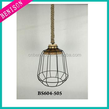 Modern Pendant Lamp Shade Wire Frames Welding Industrial Vantage ...