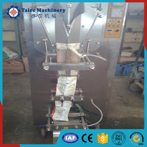 factory price automatic liquid filling machine/ water sachet packing machine/milk pouch packaging machine