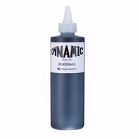 Original Dynamic BLK 8 oz black color tattoo ink