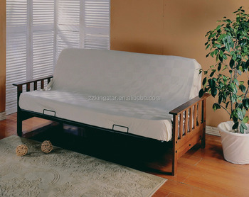 Wrought Iron Folding Guest Sofa Bed