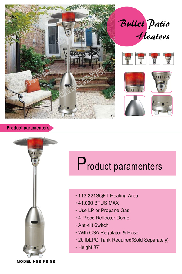 Electric Mulled Wine Infrared Propane Patio Heaters Stand