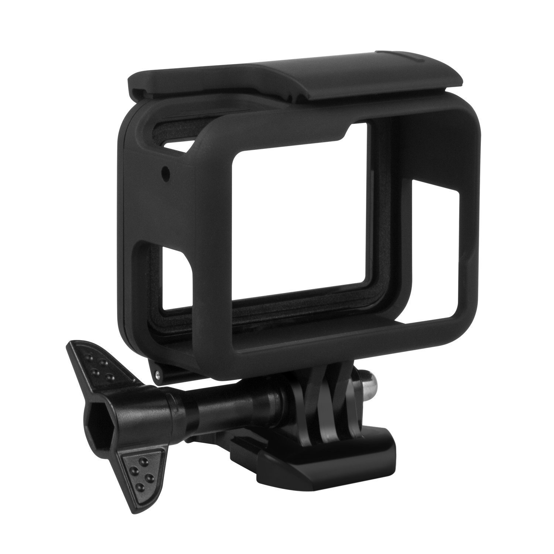Kourpar Protective Frame Holder for GoPro Hero 2018 Gogpro Hero 6 Gopro Hero 5 Black
