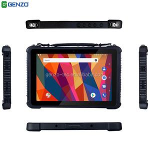10 1inch mediatek android tablet 4G LTE industrial rugged tablet with 1D/2D  Barcode Scanner Ethernet Port RS232 And Fingerprint