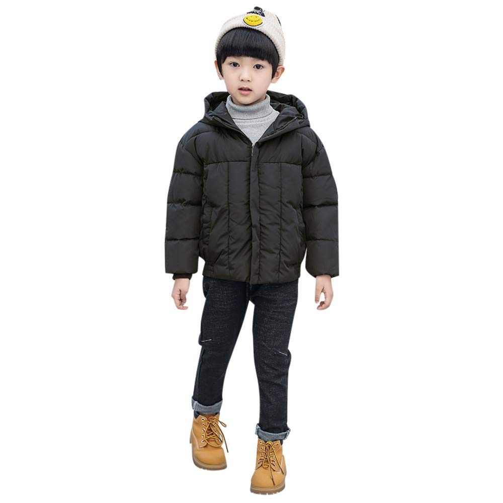 52dbba99a Get Quotations · Outtop(TM) Baby Boys Girls Down Jackets Coats Toddler Kids  Long Sleeve Winter Solid