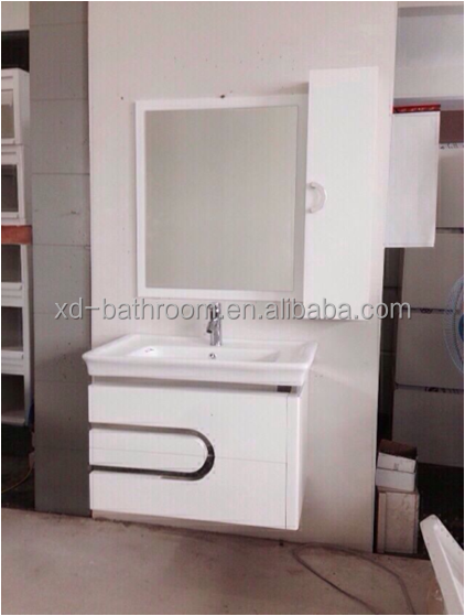 hot selling bathroom furniture in PVC / WOOD / STEEL designs for wholesale only