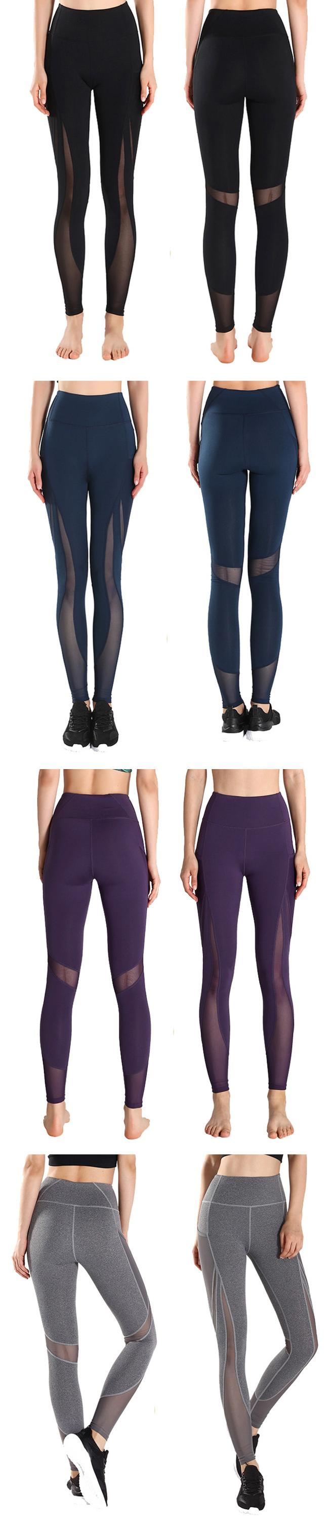 Oem Logo Custom Reflective Printing Womens Gym Fitness Breathable Legging Import Hitam