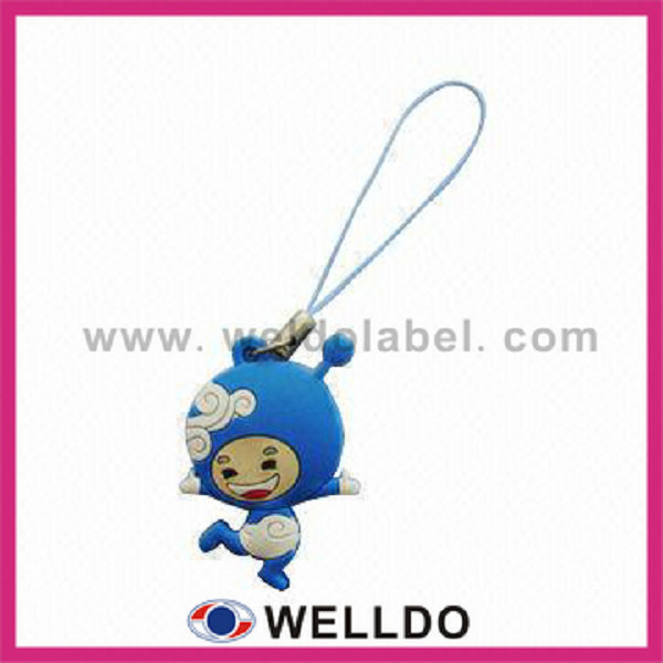 3d promotion anime cellphone charm