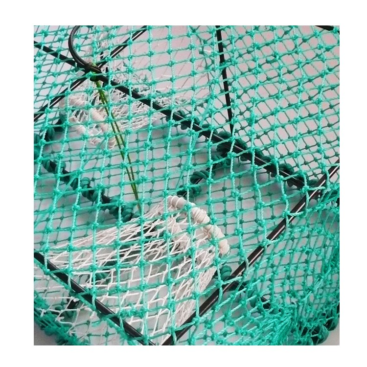 Cheap nylon effective spring lobster trap crab catch cage for Fish netting for sale
