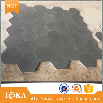 6 Inch Hexagon Nature Stone Mosaic