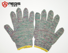 Wholesale color cotton knitted women winter household hand glove