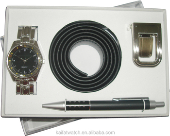 wholesale business men gift set with watch belt and pen & Wholesale Business Men Gift Set With WatchBelt And Pen - Buy ...