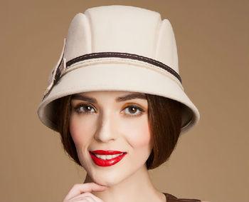 Fashion Bowler Hat Girls Wool Felt Cloche Hat For Women - Buy Girls ... d3f186bd413