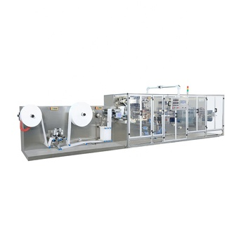 FULL AUTOMATIC HIGH SPEED SINGLE PIECE WET WIPES MACHINE