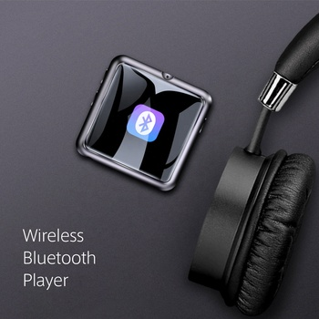 Full Screen Touch Screen Bluetooth Mp3 Mini Thin Portable Walkman Student Edition Lossless Music Play E-book Reader Mp4 Mp5 Mp6