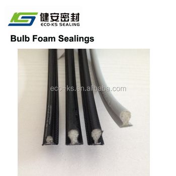 Bulb Seals Polyurethane Weather Strippings Sealing Strip For