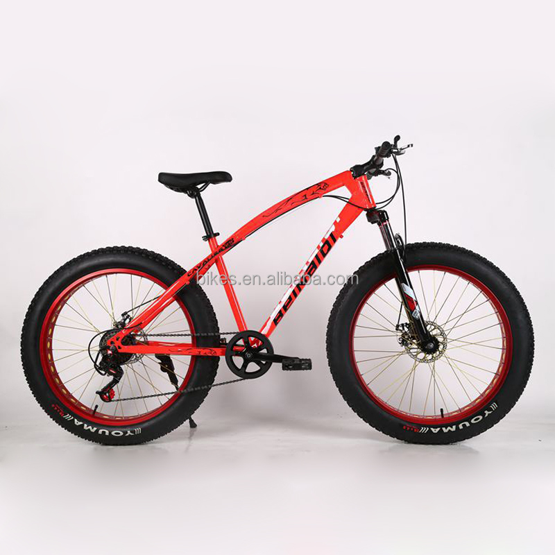 XDC09 in stock 6 colors good quality undertake 260kgs fat bike 26 inch tire bicycle