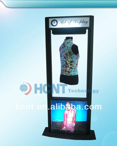 New Invention ! magnetic levitation led display rack for underwear, breast cancer bra