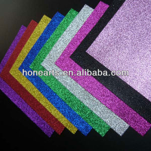 Diy crafts glitter eva foam sheets
