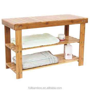 cheap home furniture strong bamboo shoes rack stand