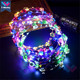 T-worthy Novelty Wedding Decorations Led Flower Crown Headband Chinese Supplies Flower Crown Headband For Party