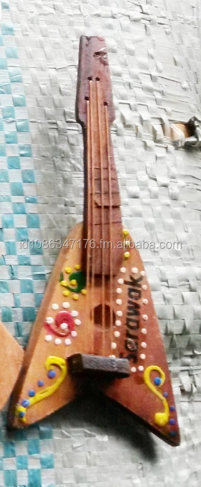 Wooden Mini Guitar Keychains Batik Motif Custom Text - Buy Wooden ... 56de6661b781
