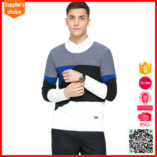 New long sleeves 100 pure wool sweater mens classic men wool sweater