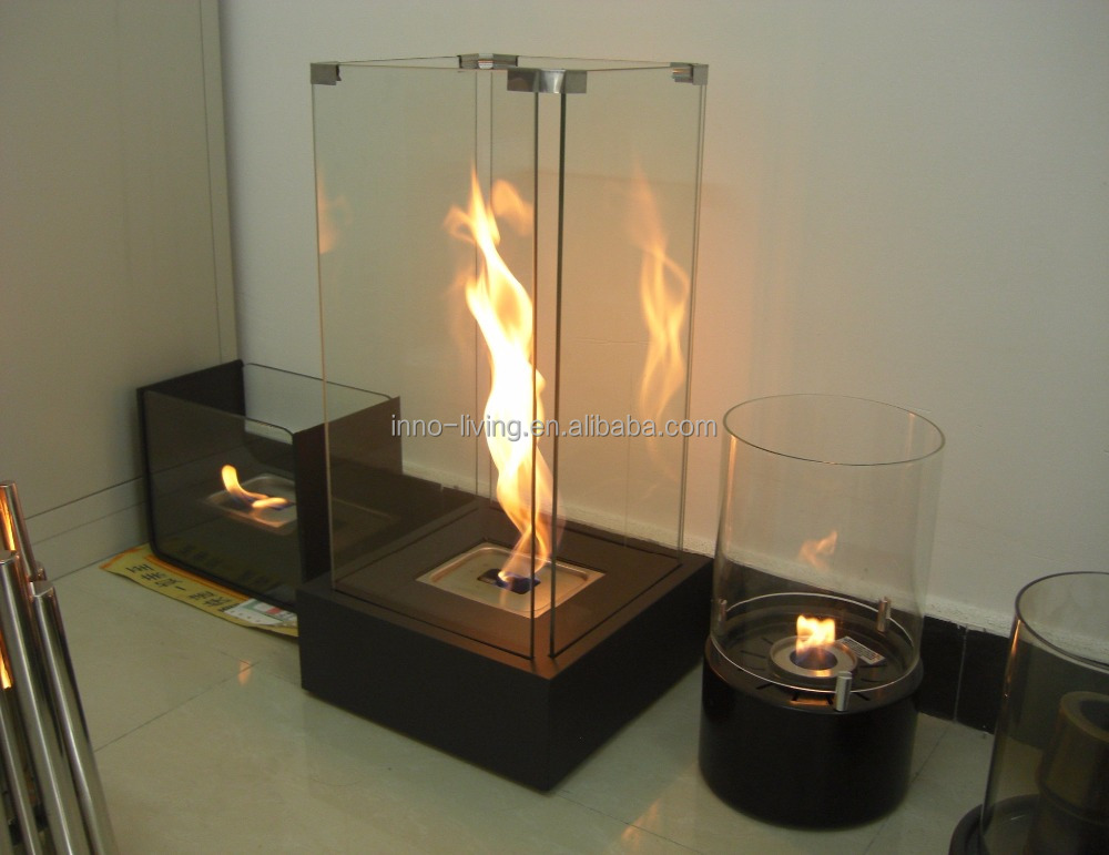 On Sale Double Sided Fireplace With Glass Bio Kamin Ethanol Lamp Buy Double Sided Fireplace Indoor Fireplace With Glass Ethanol Lamp Product On