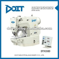 Garment Sewing Factory High-speed Electronic Direct-drive Bar Tacking Industrial Sewing Machine DT430D
