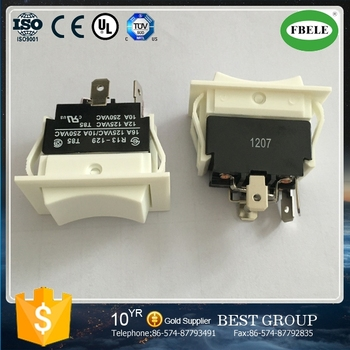 R13 129 High Quality 16a Reverse Polarity Rocker Switch