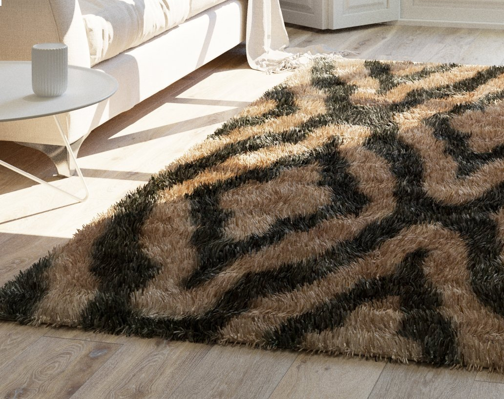 product rug memento colors thick finespun collage area indoor pile multiple oz rugs collection plush cut soft