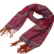 2018 Acrylic fibres Fashion Designs Winter Women Man Long Scarf Red