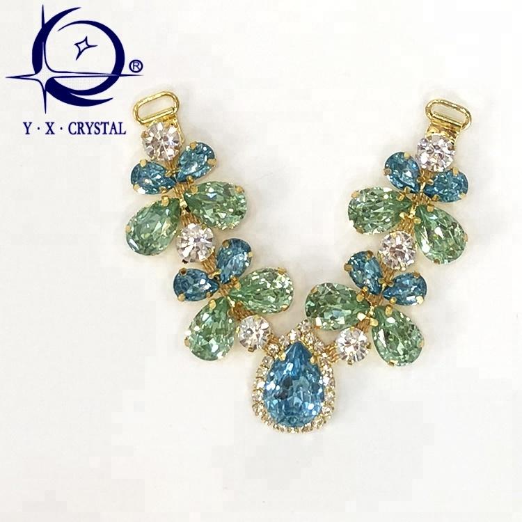 b00753535 Glass Shiny Rhinestone Chain For Flip Flop Upper Decoration - Buy ...
