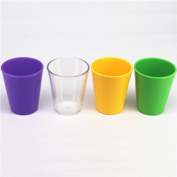 Multi-color optional 60ml plastic tasting cup wine sippy cup plastic shooter cup