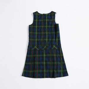 New Style school uniform dress catalog school dress for wholesale