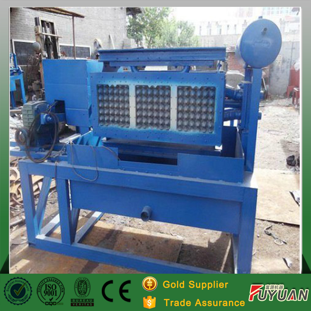 egg tray making machine / egg tray paper pulp molding machine with small production line