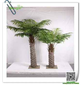 Sjzls-02 Dekorative Zimmerpflanzen Echte Rinde Baumstamm Palme ...