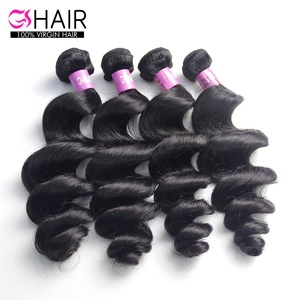 Private label free sample best hair extension prices unprocessed peruvian human virgin remy hair extension with rubber band