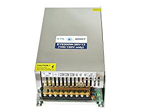 Eyeboot 36V 500W DC Universal Regulated Switching Power Supply AC to DC 13.8 Amps